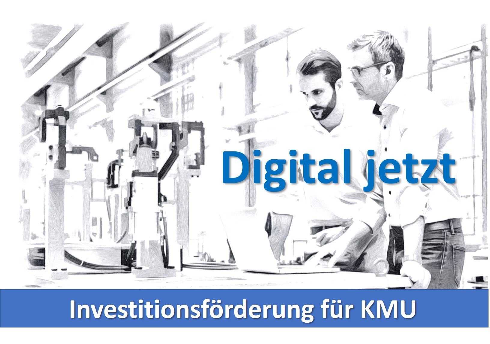 Digital Jetzt Innovationsförderng für KMU